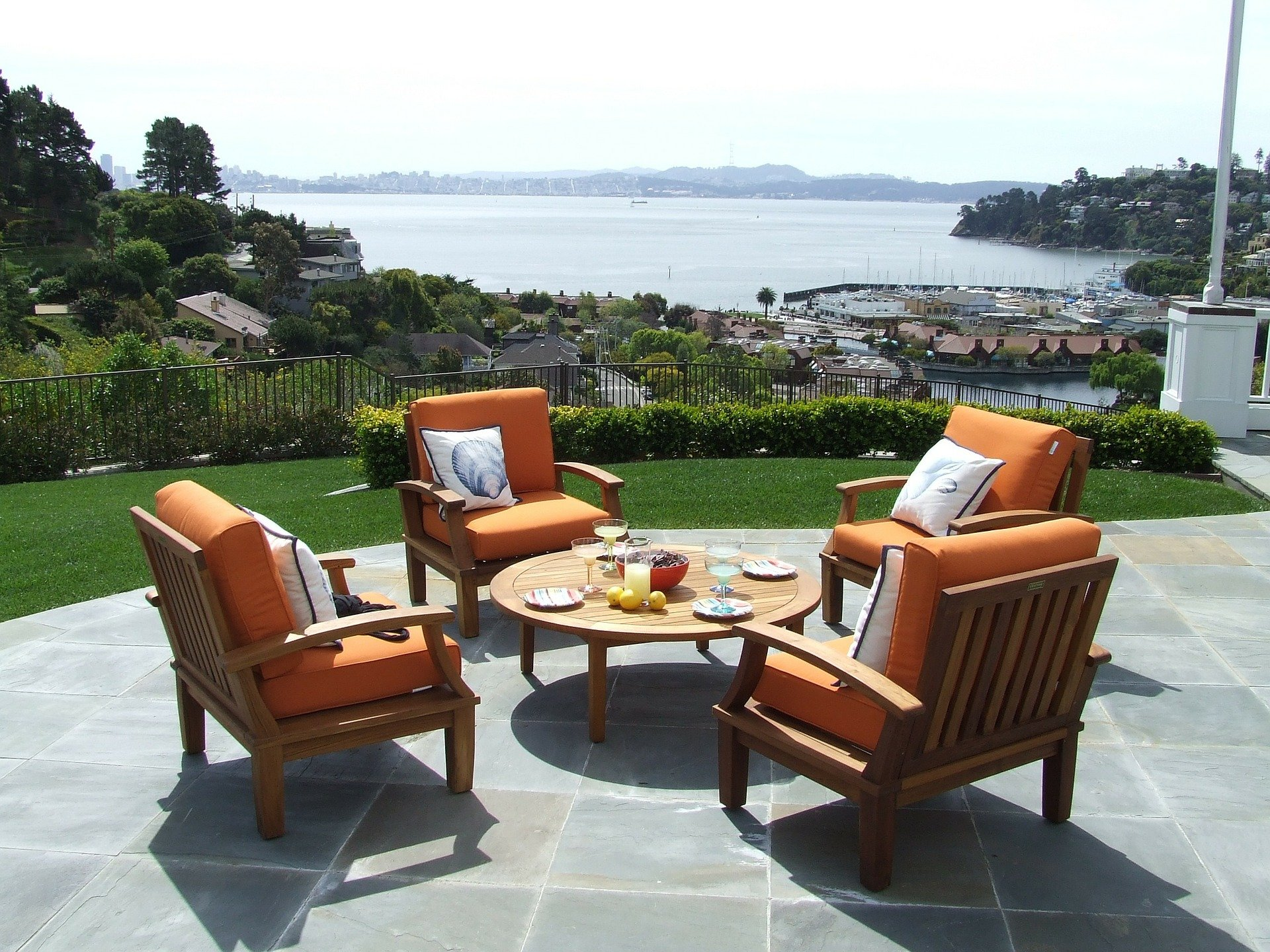 Consider upgrading your patio furniture